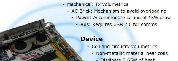 Intel et la recharge sans fil 4:4