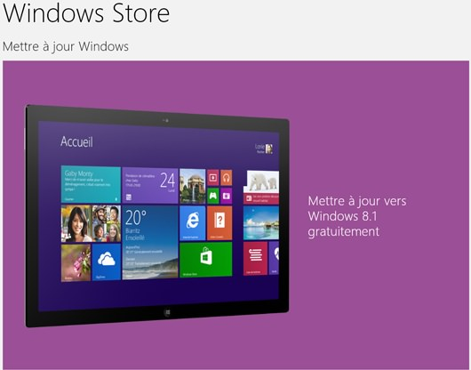 Windows 8.1 Windows Store