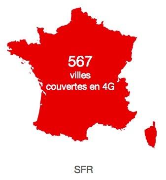 SFR 4G 567 Villes