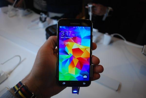 Samsung Galaxy S5 Ecran Accueil