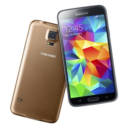 Samsung Galaxy S5 Face Dos Or