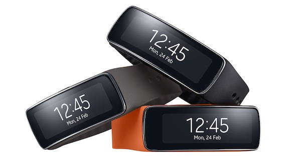 Samsung Gear Fit 3 Coloris
