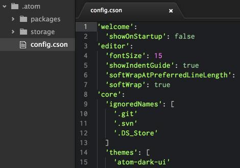 atom editeur code github