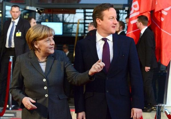 Angela Merkel David Cameron