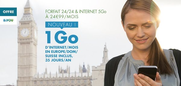 BandYou 1 Go Internet Europe DOM