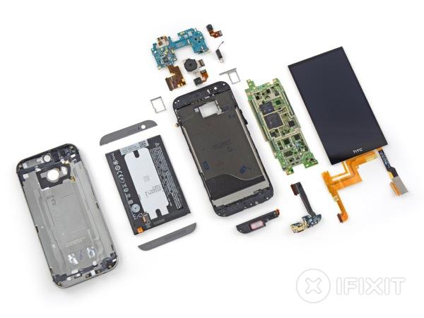 HTC One (M8) Demontage 2