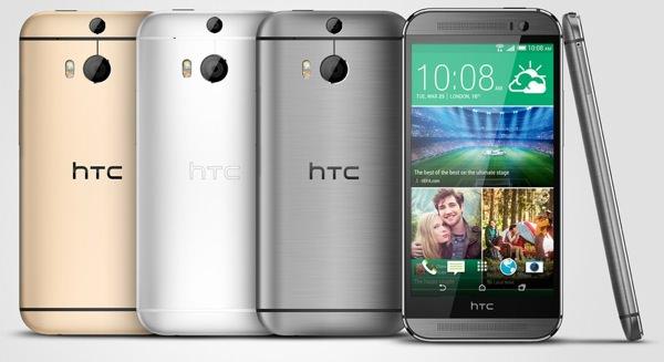 HTC One M8 Quatre Coloris Officiel