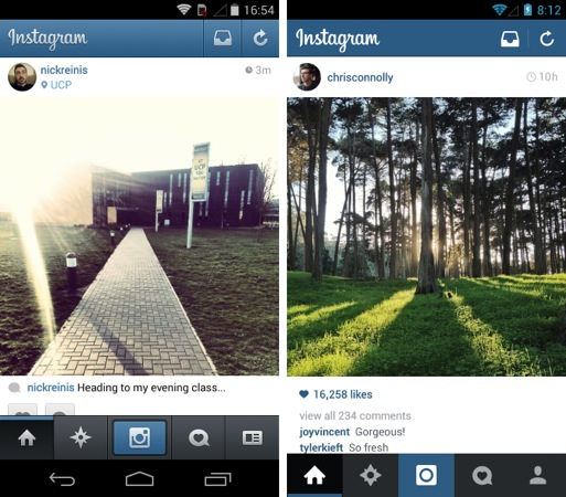 Instagram Android 5.1
