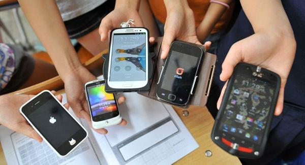Smartphones Differentes Marques