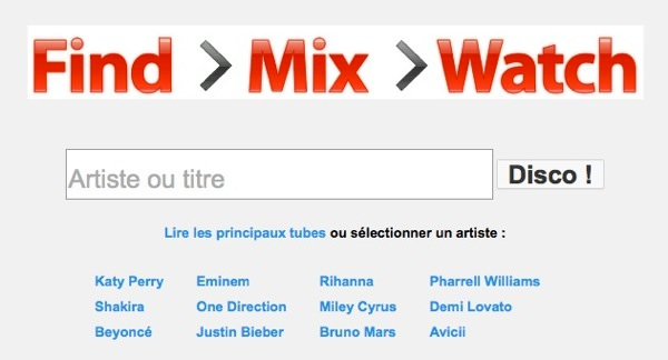 YouTube Disco Decouverte Musicale