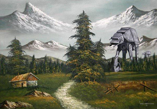 peinture star wars_6