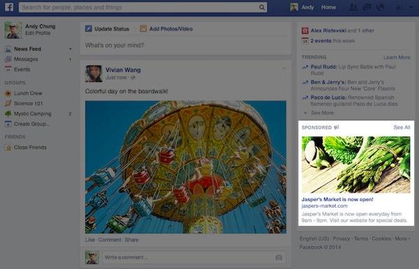 Facebook Grande Publicite