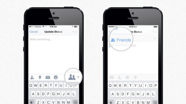 Facebook Rappel Parametres Confidentialite iPhone