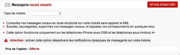 Free Mobile Messagerie Vocale Visuelle
