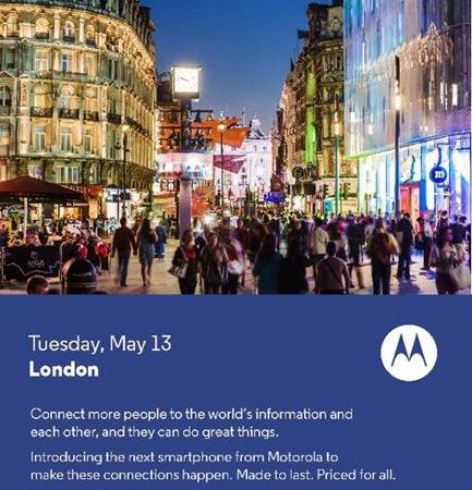 Motorola Invitation Conference 13 Mai 2014