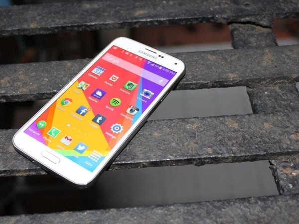 Samsung Galaxy S5 Banc