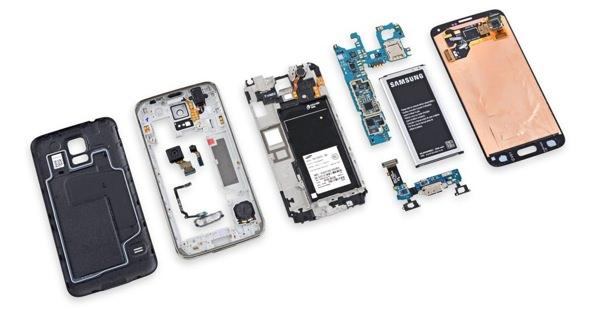 Samsung Galaxy S5 Demontage