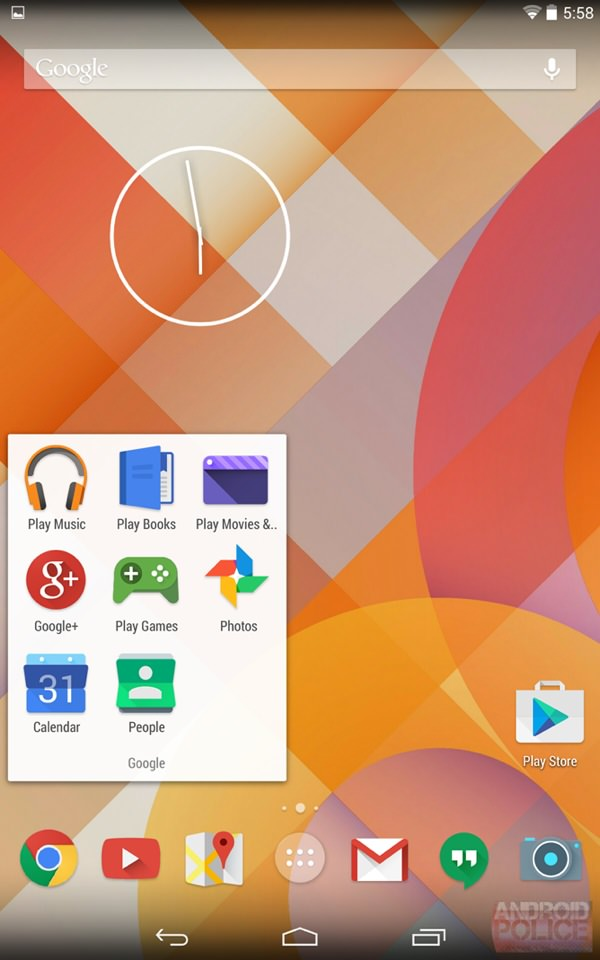 icones flats android google_2