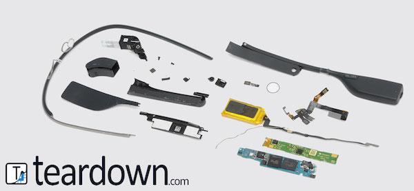 Google Glass Demontage
