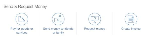 PayPal Nouvelle Interface Envoi Argent