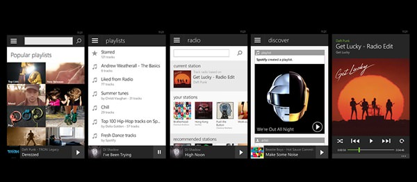 Spotify Windows Phone Mai 2014