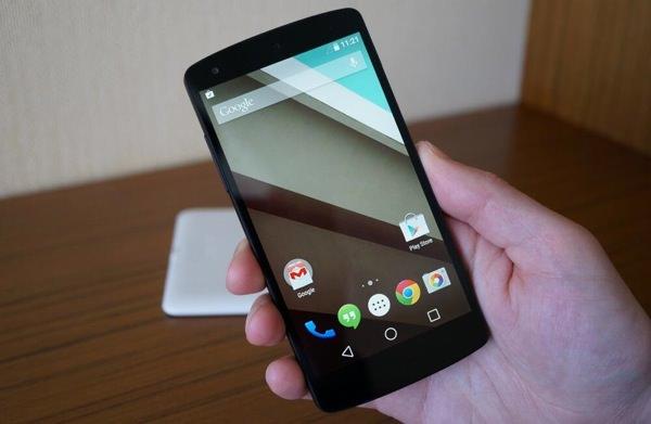 Android L Nexus 5