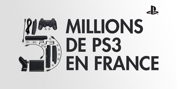 PlayStation 3 5 millions France