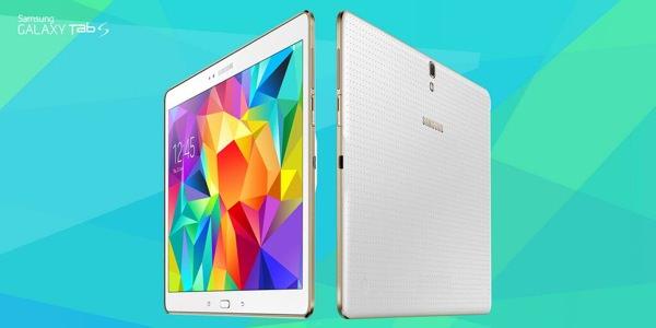 Samsung Galaxy Tab S Avant Arriere