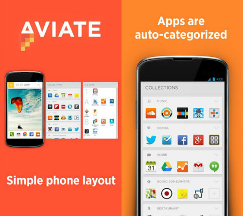 aviate launcher yahoo