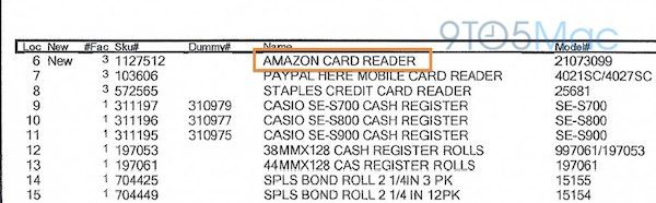 Fuite Document Amazon Lecteur Carte Bancaire