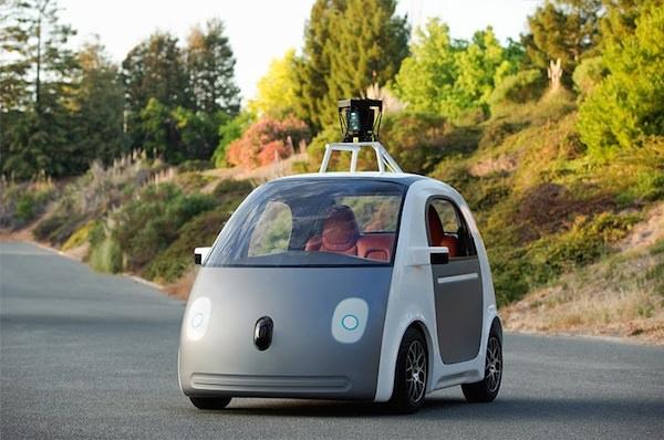 Google Voiture Sans Chauffeur Prototype