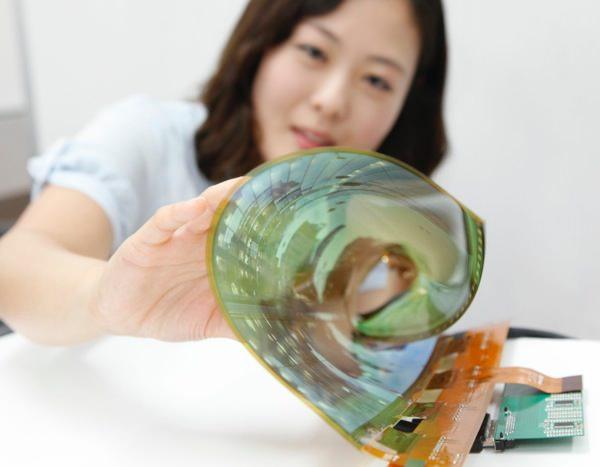 LG Ecran OLED 18 Pouces Enroulable