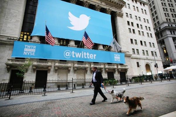 Twitter Bourse Wall Street