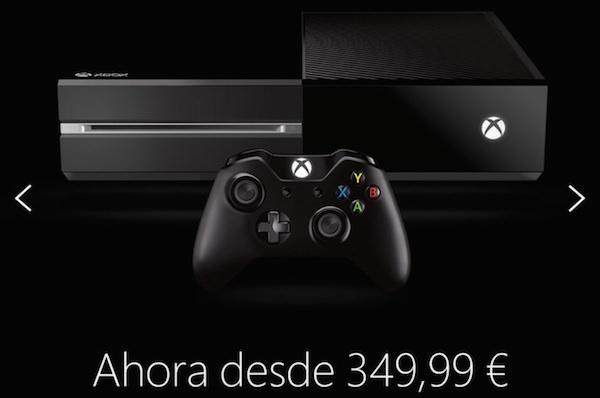 Erreur Xbox One 349 Euros Microsoft Espagne
