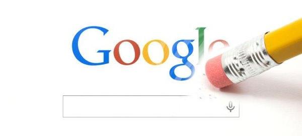 Google Droit Oubli