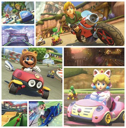 Mario Kart 8 DLC Zelda Animal Crossing