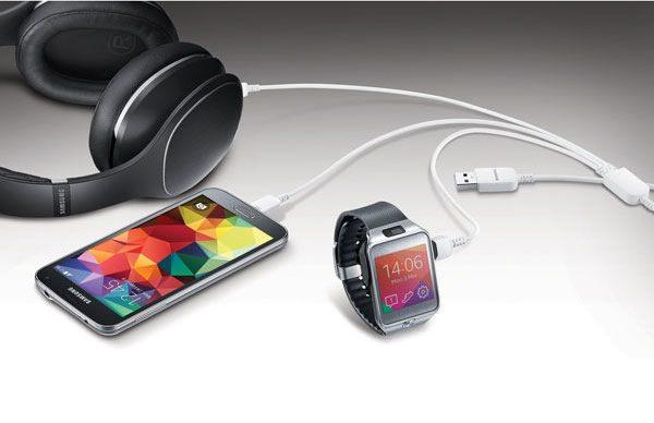 Samsung Cable USB 3 en 1