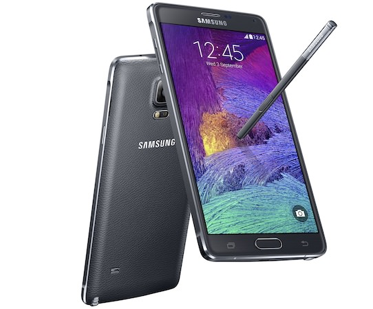 Galaxy Note 4 Noir