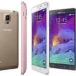 Samsung Galaxy Note 4 Coloris