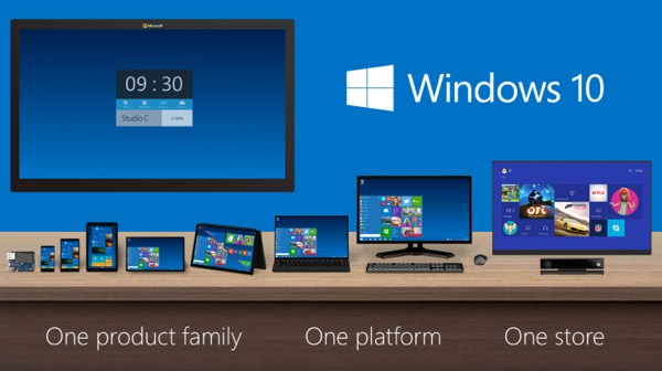 Windows 10 Multi Plateformes