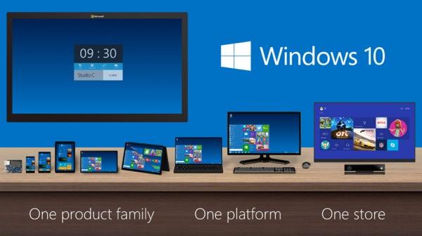 Windows 10 Multi Plateformes