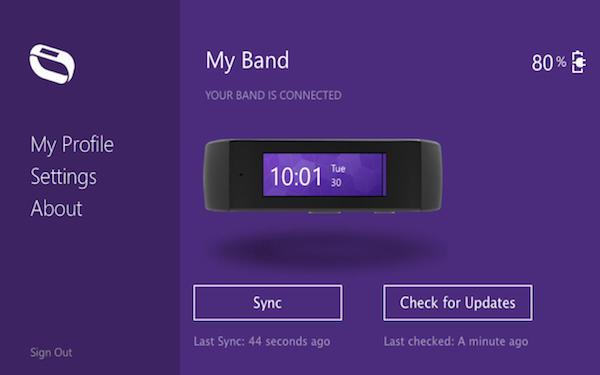 Microsoft Band Fuite Mac App Store