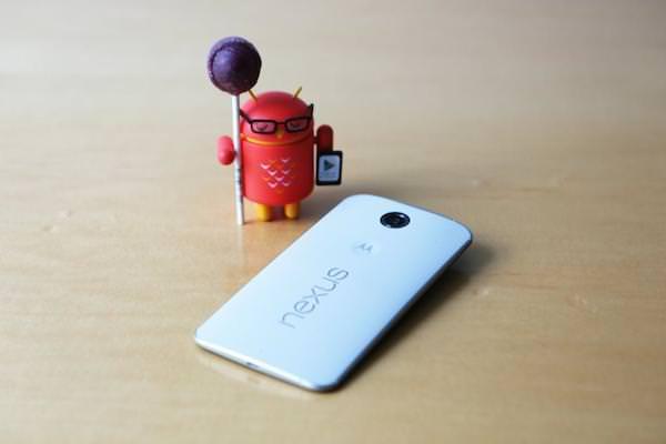 Nexus 6 Arriere