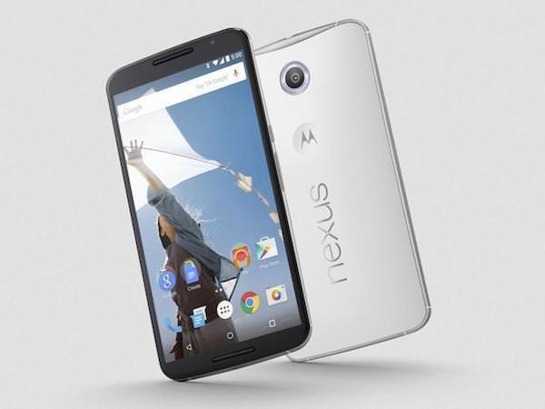 Nexus 6 Avant Arriere