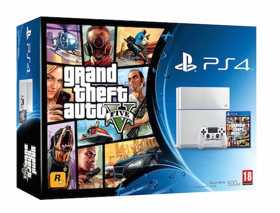 PS4 White
