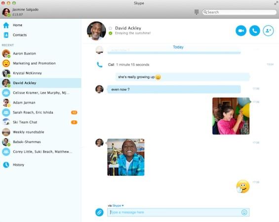 Skype 7.0 Mac