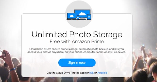 Amazon Cloud Drive Stockage Photos Illimite