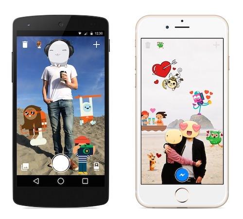 Facebook Autocollants Photos Application