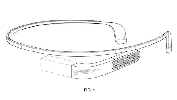 Nouvelles Google Glass Brevet