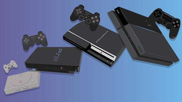 PlayStation PlayStation 2 PlayStation 3 PlayStation 4